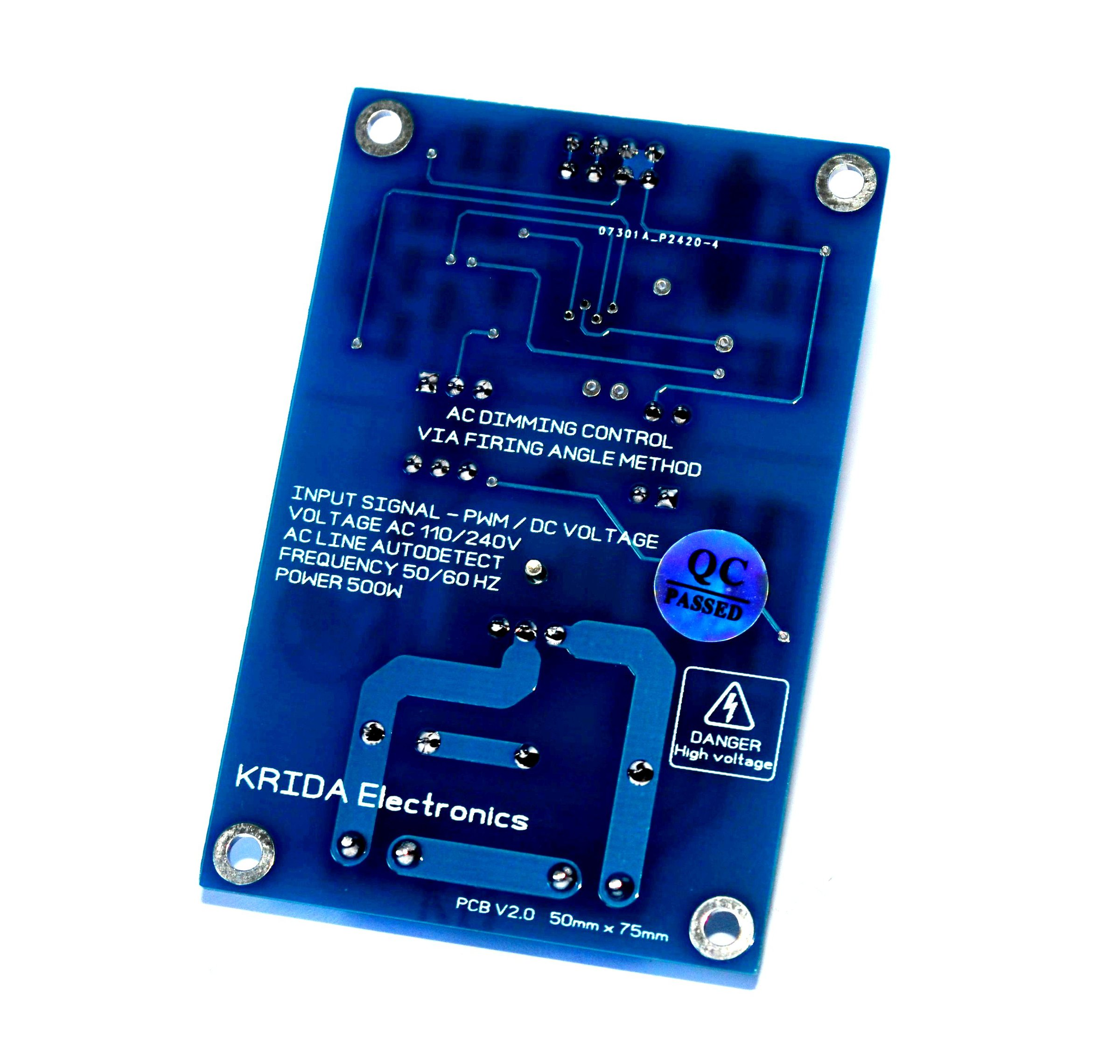 Pwm Dimmer Pwm Ac Light Dimmer Module 50hz 60hz From Krida