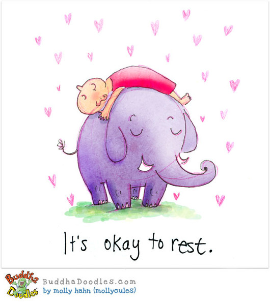 Rest In Peace Quotes Wallpaper Buddha Doodles It S Okay To Rest
