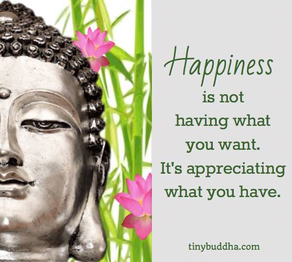 Buddha Quotes Wallpaper Desktop Happiness Is Appreciating What You Have