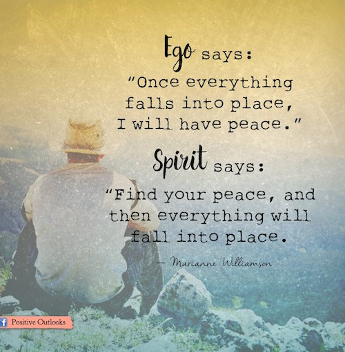 Download Wallpaper Positive Quotes Ego Vs Spirit