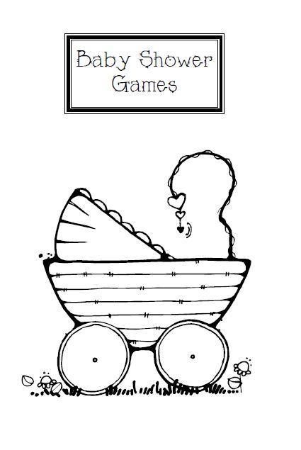 baby shower menu templates