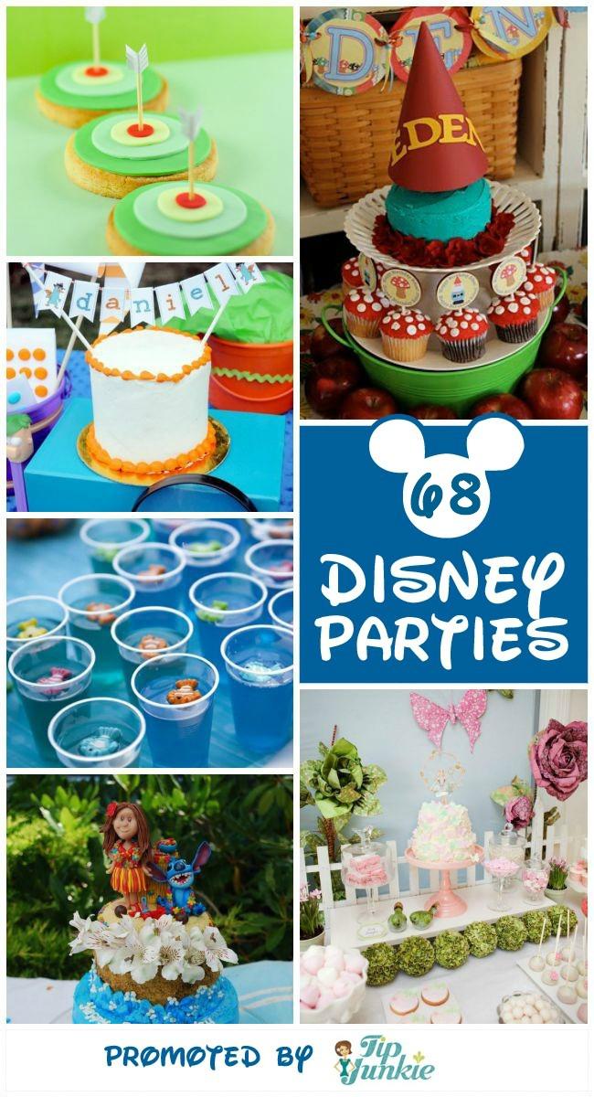 68 Disney Movie Inspired Kid Parties wow! Tip Junkie