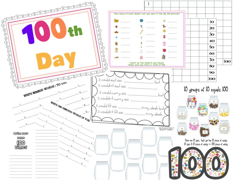 75 Clever Ideas for 100 days of School \u2013 Tip Junkie