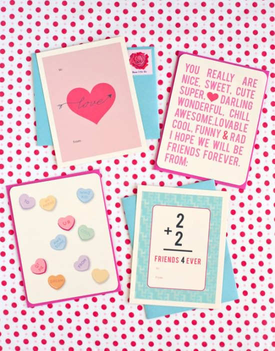 35 Printable Valentines Day Cards and Activities {Free!} \u2013 Tip Junkie