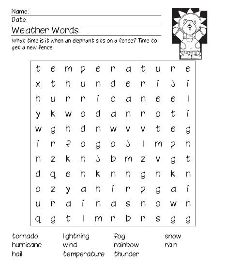 12 Printable Word Search Worksheets Tip Junkie