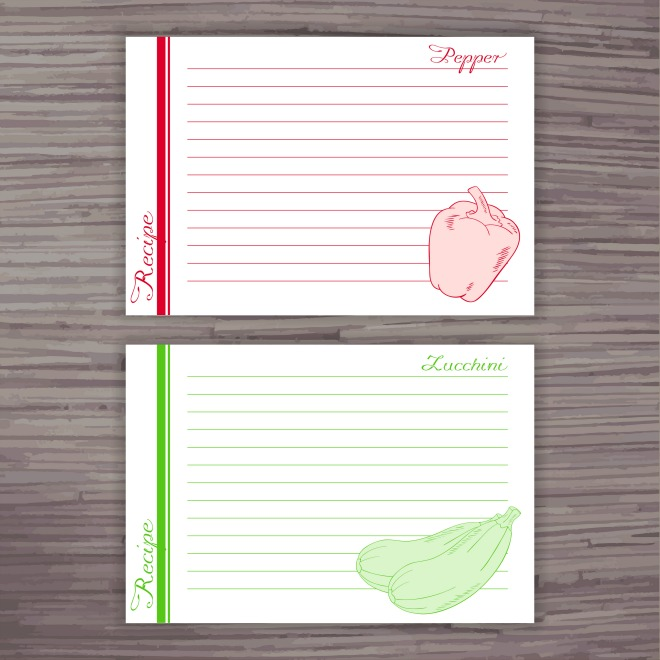 40 Recipe Card Template and Free Printables Tip Junkie - recipe card
