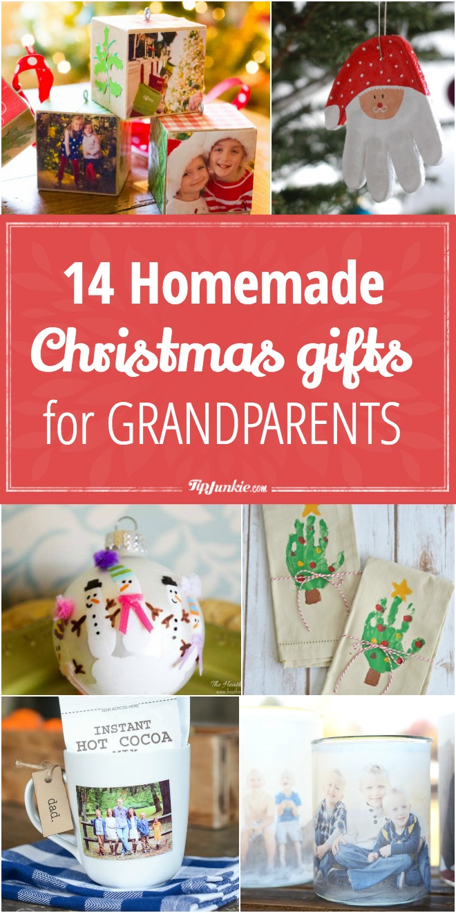 Christmas Homemade Gifts 14 Homemade Christmas Gifts For Grandparents Tip Junkie