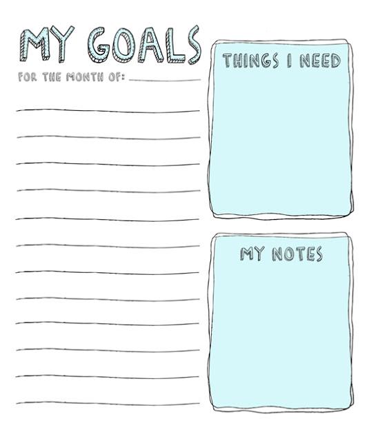 8 Free Goal Setting Worksheet Printables \u2013 Tip Junkie