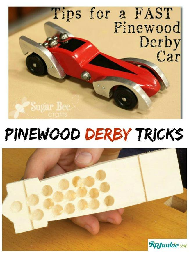22 Pinewood Derby Ideas, Tips and Tutorials Tip Junkie