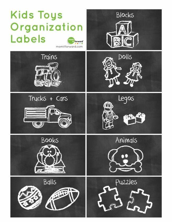 21 Free Labels to Get You Organized {printables} \u2013 Tip Junkie