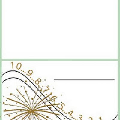 New Years Place Cards {Place Card Template} Tip Junkie