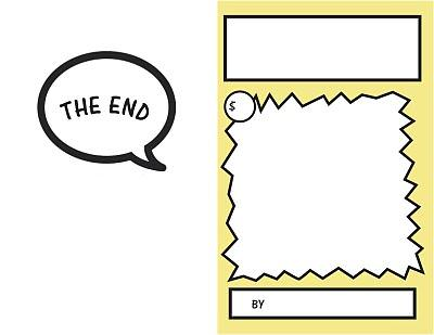 Blank Comic Book Pages {Printable} \u2013 Tip Junkie