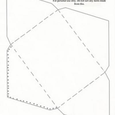 Greeting Card Envelope Template {online printable cards} Tip Junkie