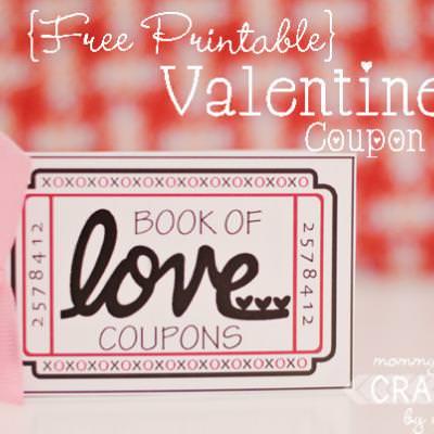Printable Love Coupon Book \u2013 Tip Junkie