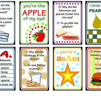 Printable Lunch Box Notes \u2013 Tip Junkie