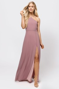 Sexy Wine Maxi Dress - Strappy Back Dress - Wine Front ...