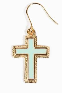 Cross Dangle Earrings - $2.00 | Tobi