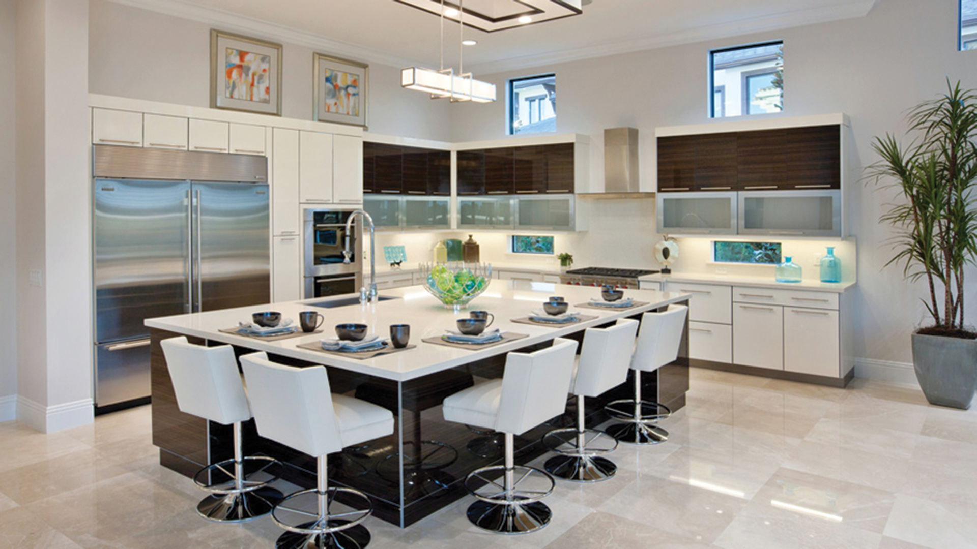 Open Type Kitchen Design Kitchen Inspiration Gallery Toll Brothers Luxury Homes