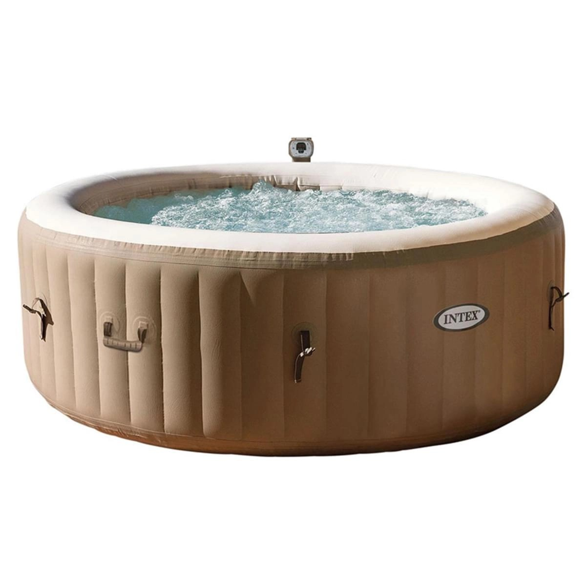 Hoe Een Intex Zwembad Opblazen Intex Pure Spa Bubble Therapy 4 Persoons