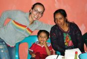 Helen Jolly, left, who served as an Agriculture Volunteer in Guatemala from 2003 to 2005, will work on campus at Stony Brook University as a Peace Corps Recruiter. Photo Credit: Peace Corps Northeast