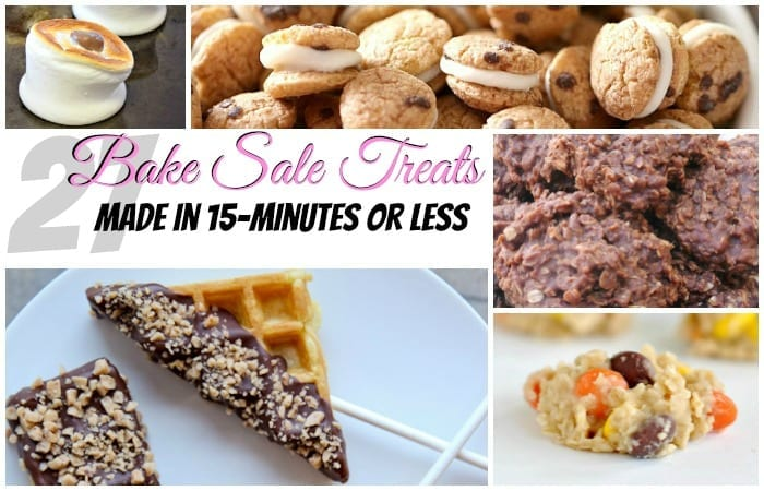 27 Bake Sale Treats Made in 15-Minutes or Less