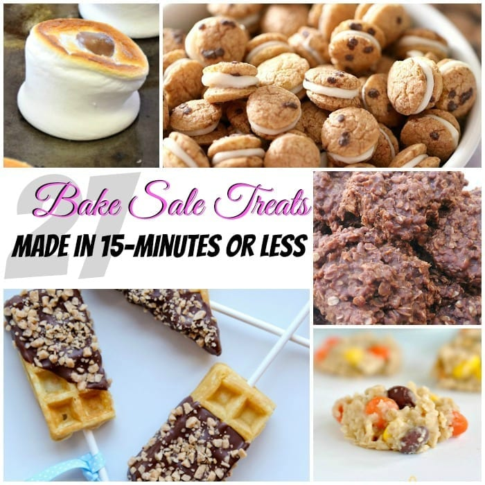 27 Bake Sale Treats Made in 15-Minutes or Less - easy bake sale goodies
