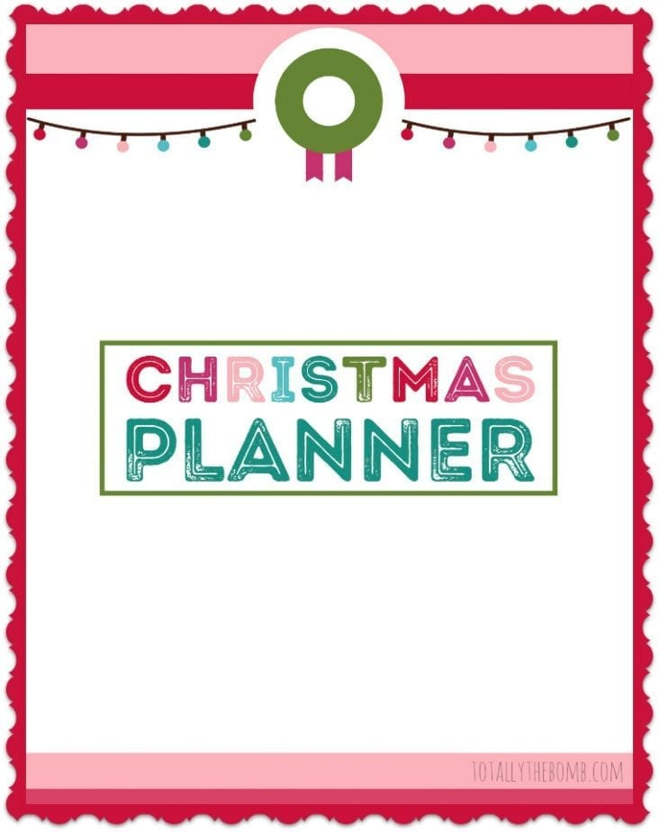 This Printable Christmas Planner Is Everything You\u0027ll Need This Year