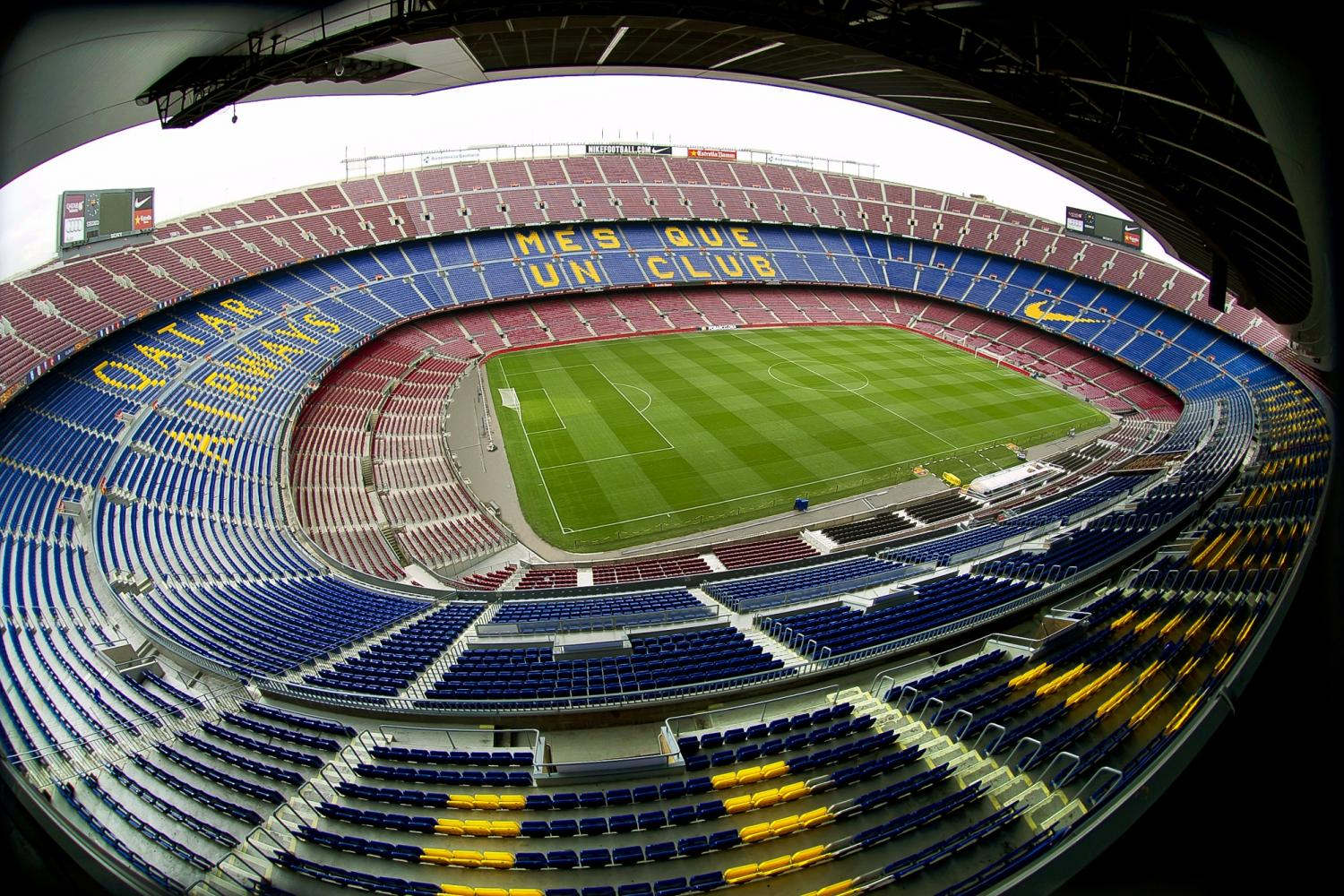 Mapa Asientos Camp Nou Barcelona City Tour Y Tour Camp Nou Experience Barcelona