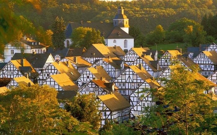 Fall Christmas Wallpaper Freudenberg Germany S Fairytale Village In Westphalia