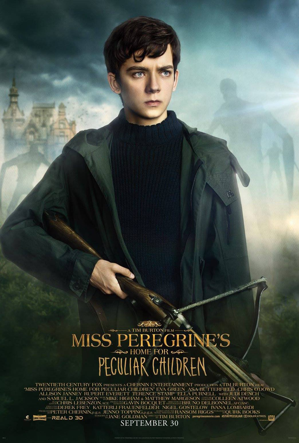 Libro De Oliver Twist Miss Peregrine's Home For Peculiar Children (2016) Poster