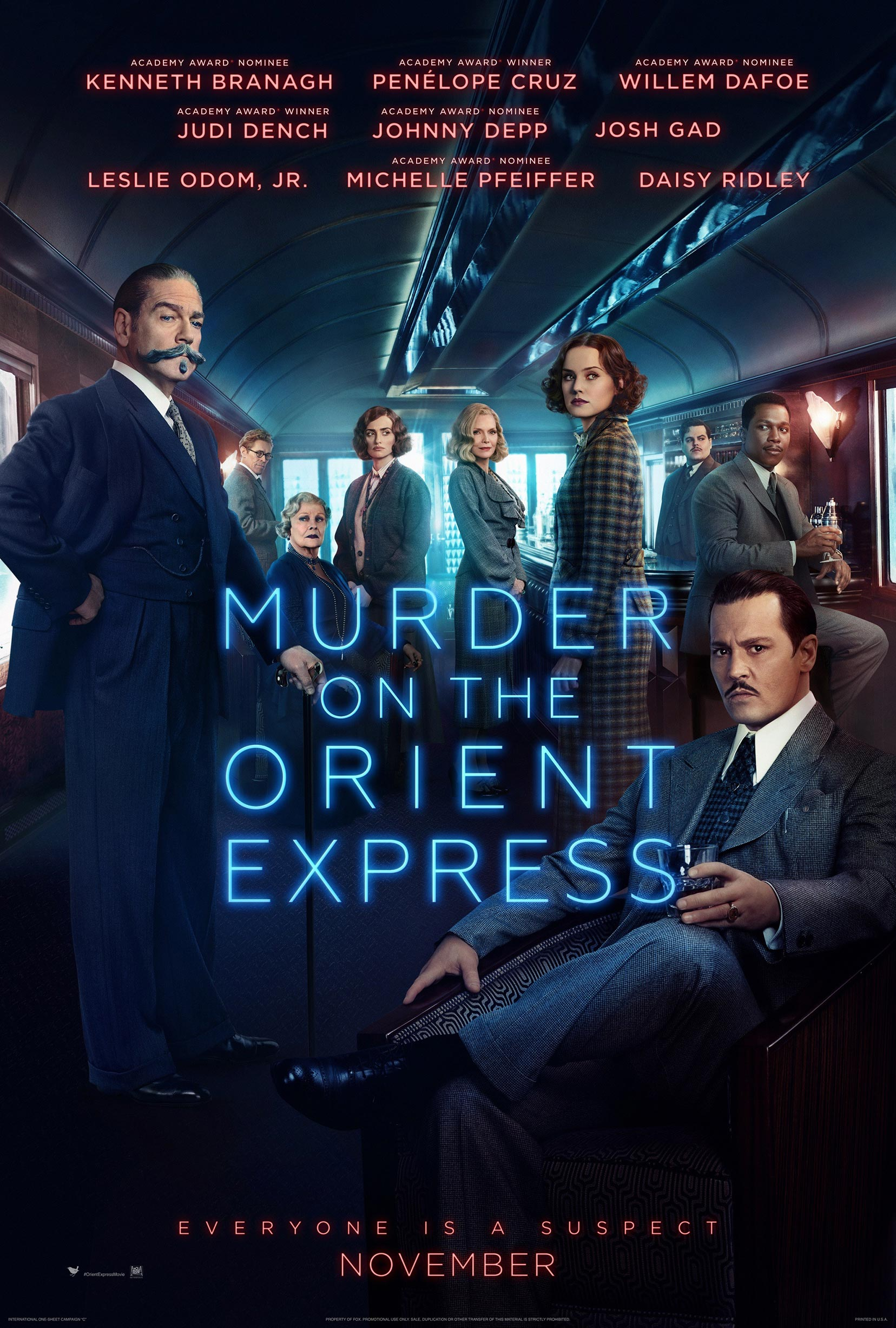 Poster Xpress Murder On The Orient Express 2017 Poster 2 Trailer Addict