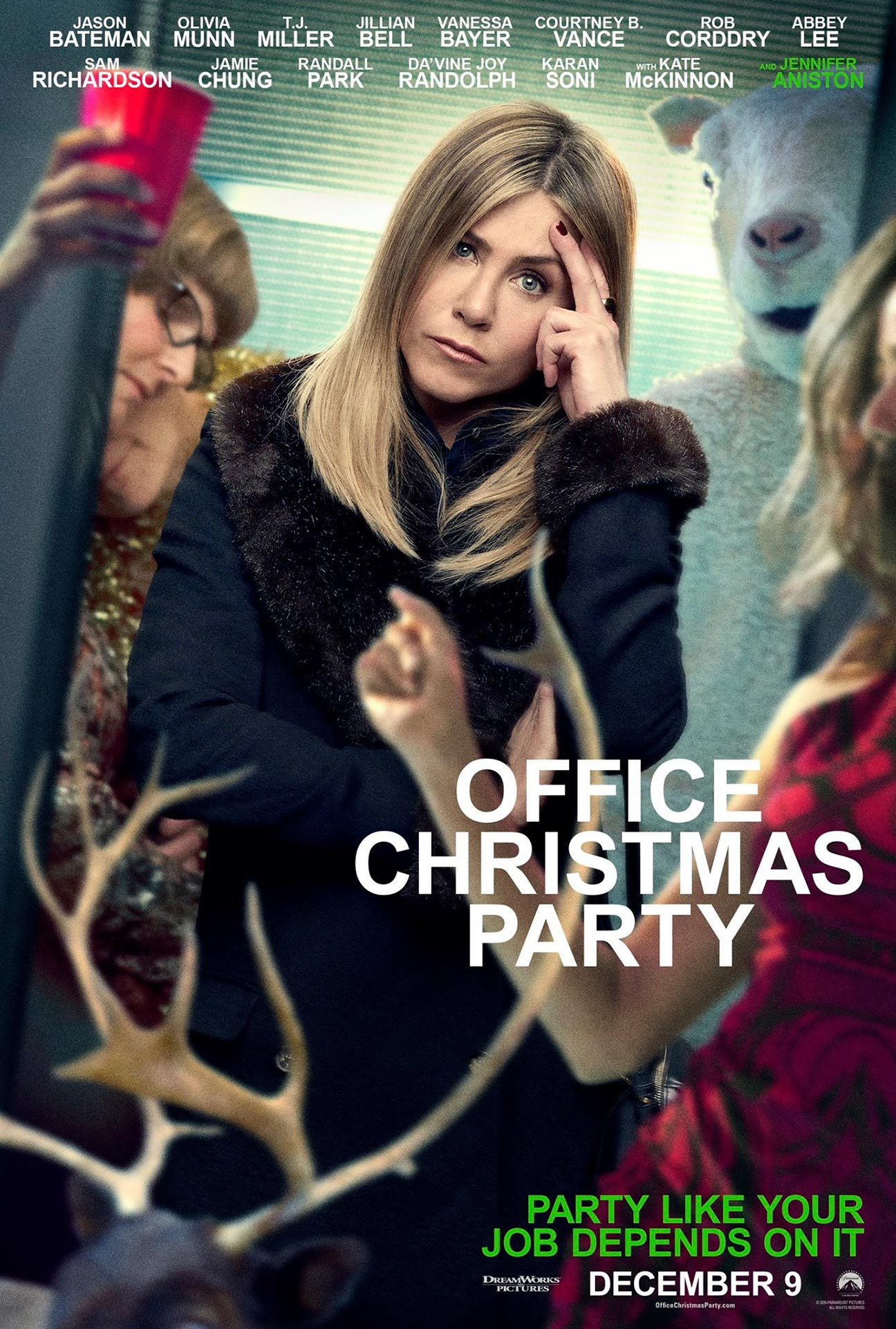 poster for christmas party