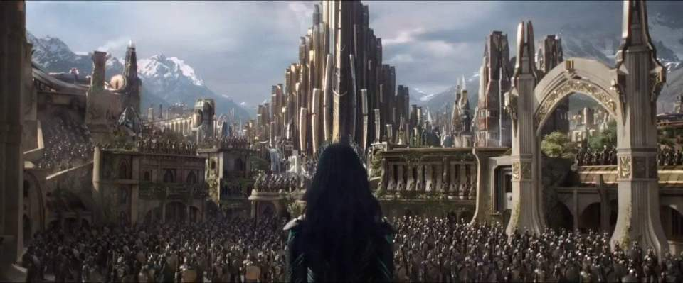 Thor: Ragnarok International Trailer (2017) Screen Capture