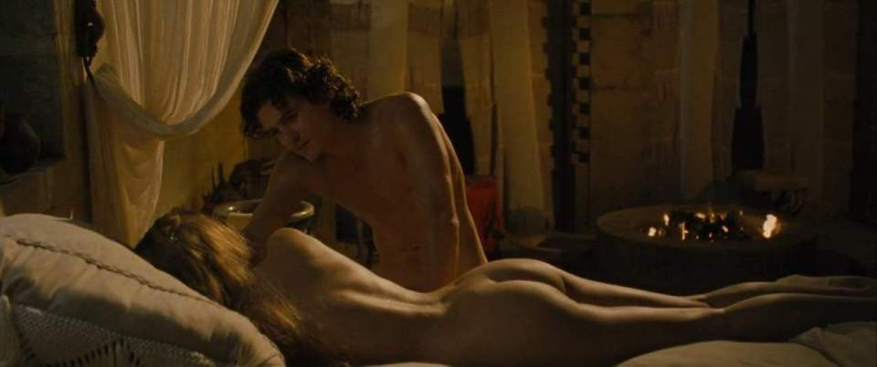 Troy (2004) - Nude Scene - I Have Something Screen Capture