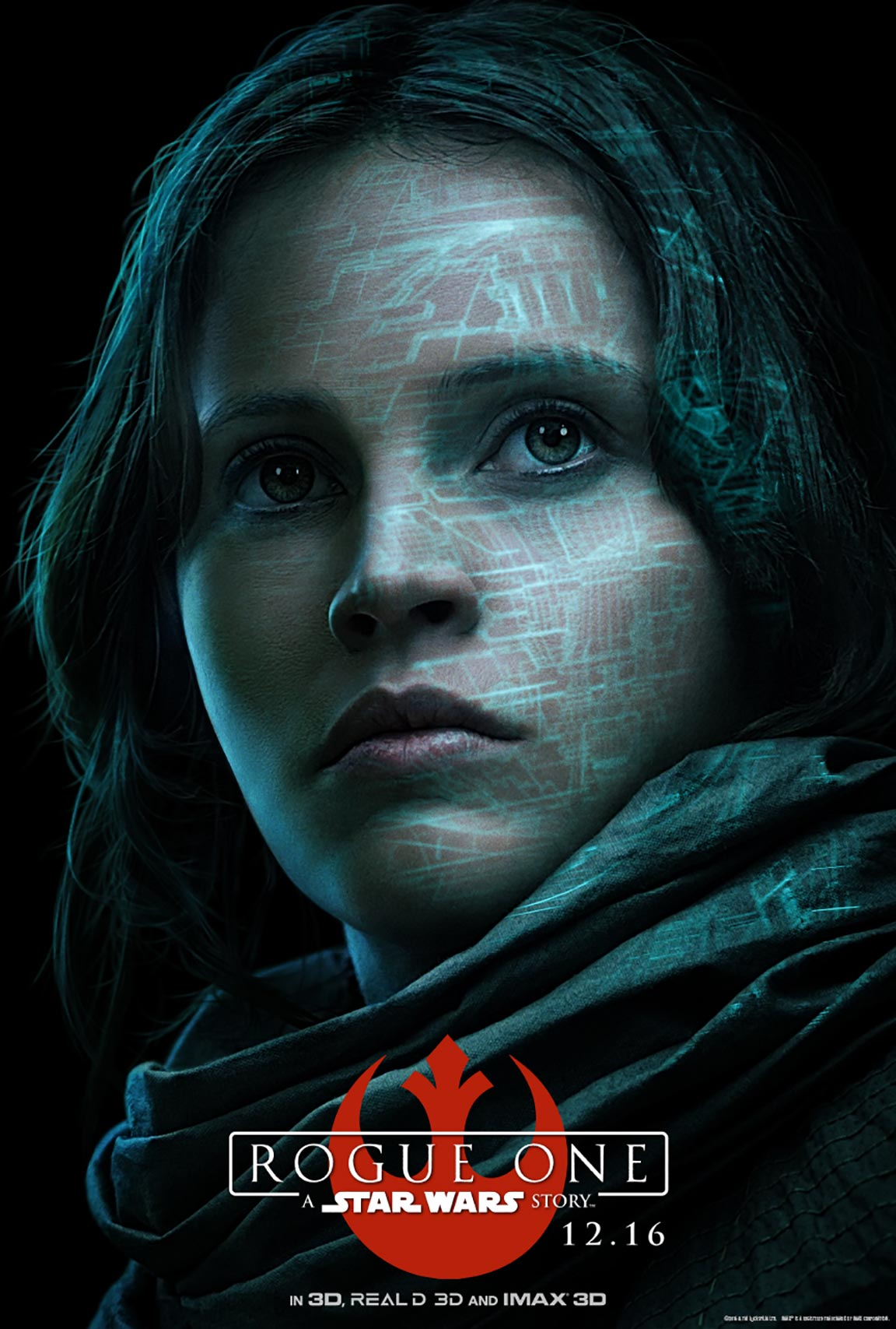 Star Wars Poster Rogue One A Star Wars Story 2016 Poster 1 Trailer Addict