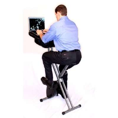 Workplace Workouts - Office exercise becomes efficient with desk - office exercise