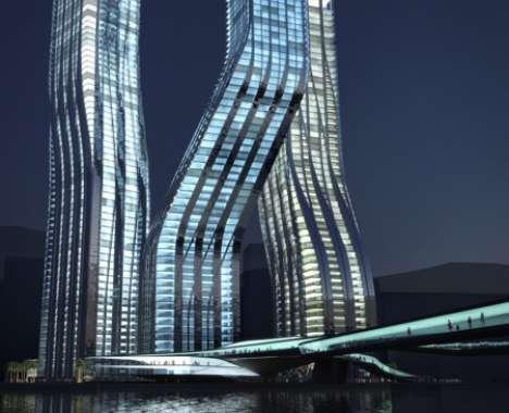 7 Star Dubai Hotel Luxury Living In A Funnel