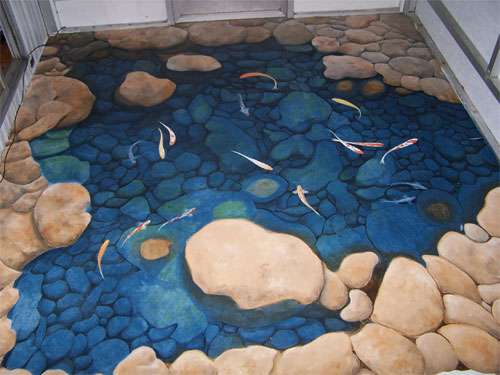 3d Floor Murals 10 Incredible Optical Illusion Designs To