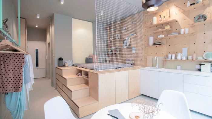 Kleine Apartments Meticulous Micro Apartments : Micro Apartment