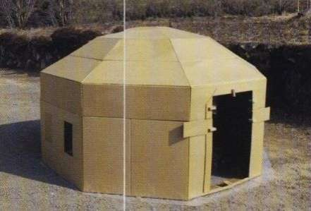 Disaster Housing Designs The Octagon Post Earthquake House