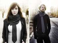 Hipster Scarves: The Andtie Scarf Lets You Look ...