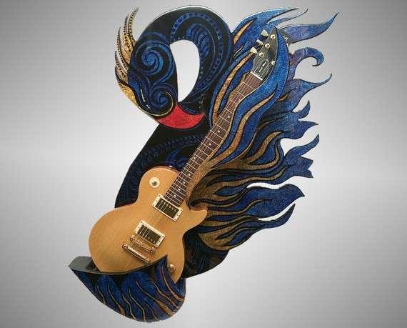 Eccentric Guitar Stands Axe Totem