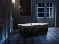 Crystal-Encrusted Bathtubs : bathroom bathtub