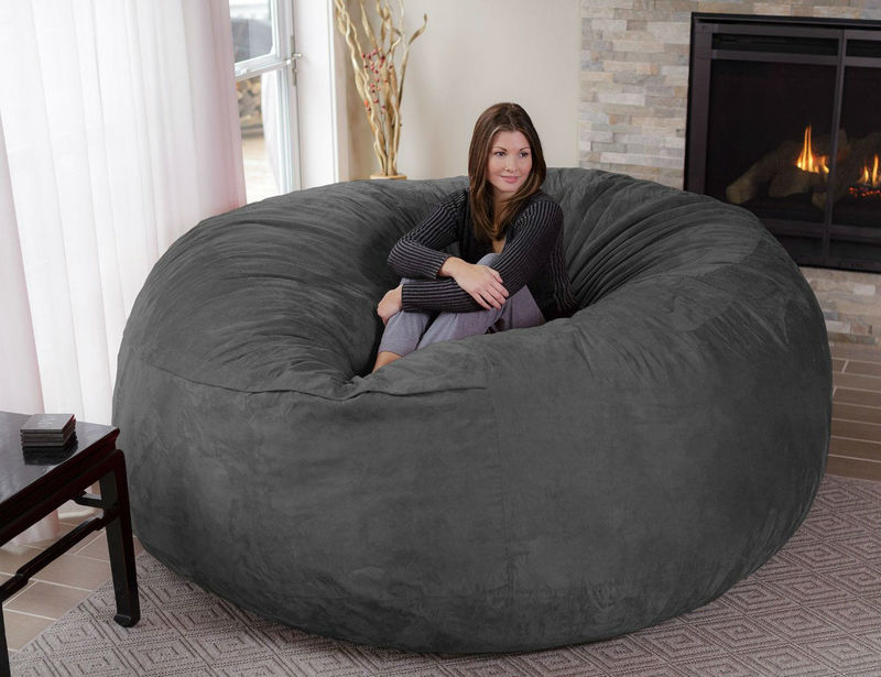 Sitzsack Riesig Oversized Enveloping Chairs : Big Bean Bag