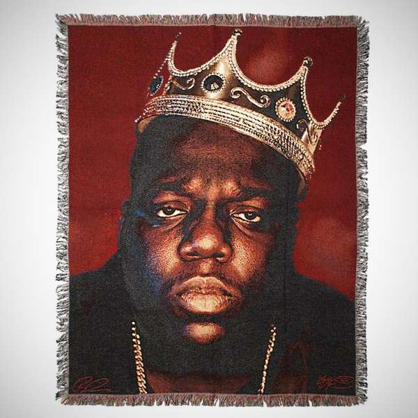 What Is A Throw Blanket Notoriously Iconic Blankets : Biggie Smalls