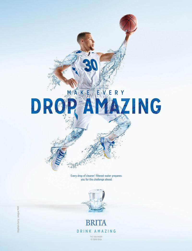 Under Armour 3d Wallpaper Basketball Inspired Water Ads Brita Drink Amazing