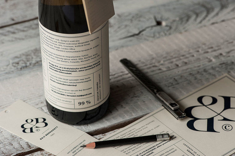 Wine Bottle Resumes  \ - resume label example