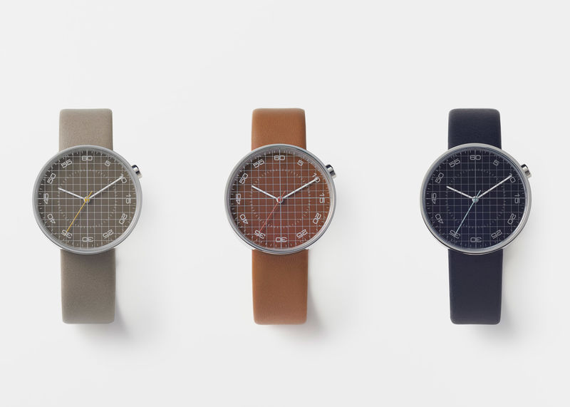 Drafting Grid Timepieces  design paper