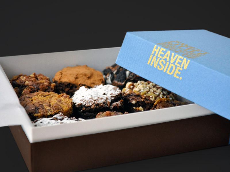 97 46 Best Brownie Packaging Images Brownie Packaging