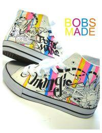 DIY Shoe Design Tutorials: Bobsmade Colors Your World